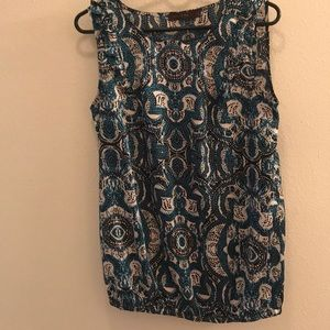 The Limited blouse sleeveless